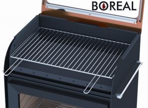 Boreal E6000 stříbrná - kamna krbová a zahradní gril odborný prodejce levně!