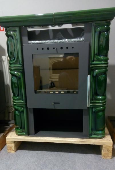 ALEA Keramik olivově zelená - kamna kachlová Flama odborný prodejce levně!