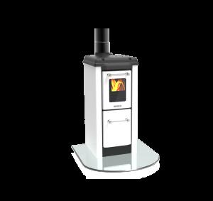 Colonnina 170 NV bílá - kamna s plotýnkou