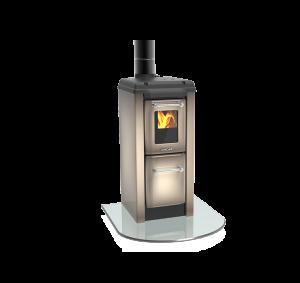 Colonnina 170 NV cappuccino - kamna s plotýnkou