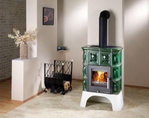 Haas+Sohn Treviso II s výměníkem kachle zelená - kamna, ZDARMA DOPRAVA odborný prodejce levně!