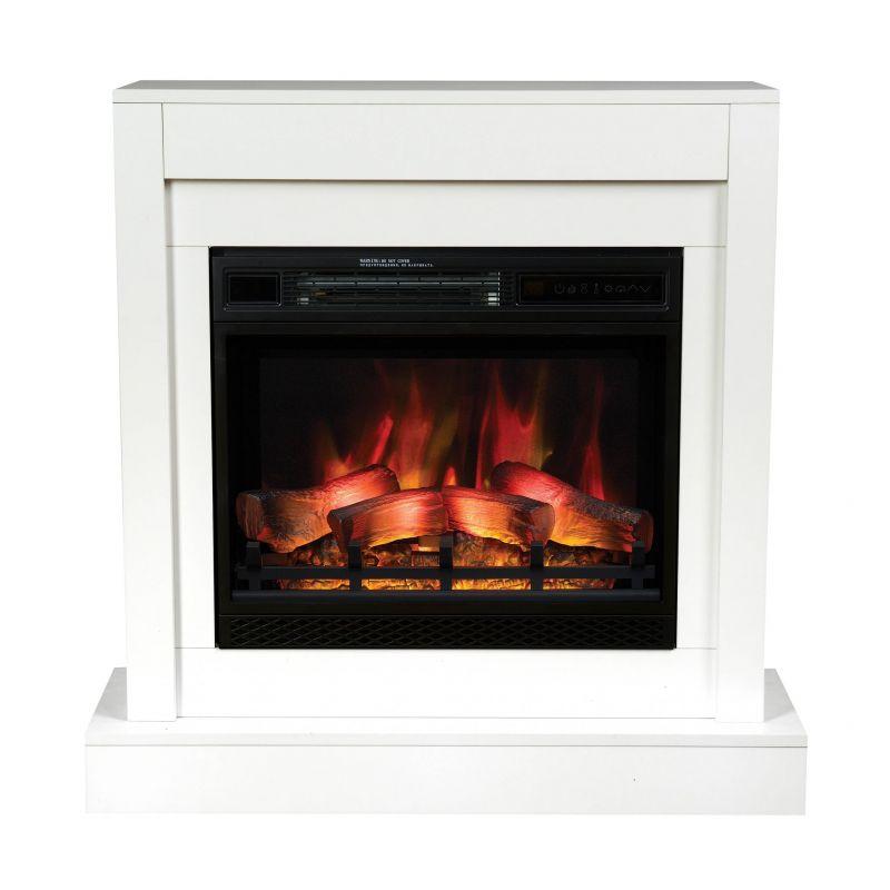 Milo bílý modern - elektrický krb s ostěním Classic Flame odborný prodejce levně!