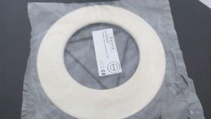 Růžice 150 mm smalt béžový