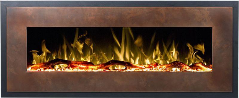Aflamo MOHAVE bronze - elektrický krb závěsný odborný prodejce levně!