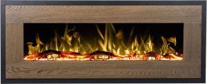 Aflamo MOHAVE wood - elektrický krb závěsný