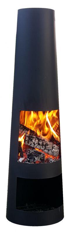 Zahradní krb ocelový typ 630 černý Lienbacher odborný prodejce levně!