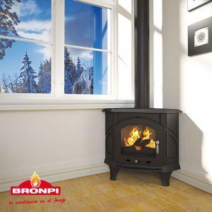 Bronpi ALTEA - litinová kamna rohová odborný prodejce levně!