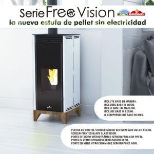 Bronpi Free 6 Vision - kamna na pelety odborný prodejce levně!