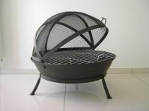 Litinové ohniště s grilem FUOCO BBQ