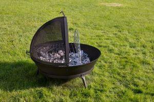 Litinové ohniště s grilem FUOCO BBQ Globe-Fire odborný prodejce levně!