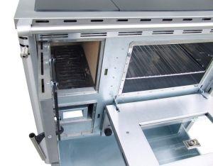 Senko SG-90 inox mat - sporák na dřevo odborný prodejce levně!
