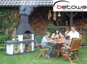 Betowa WESTERLAND - zahradní krb odborný prodejce levně!