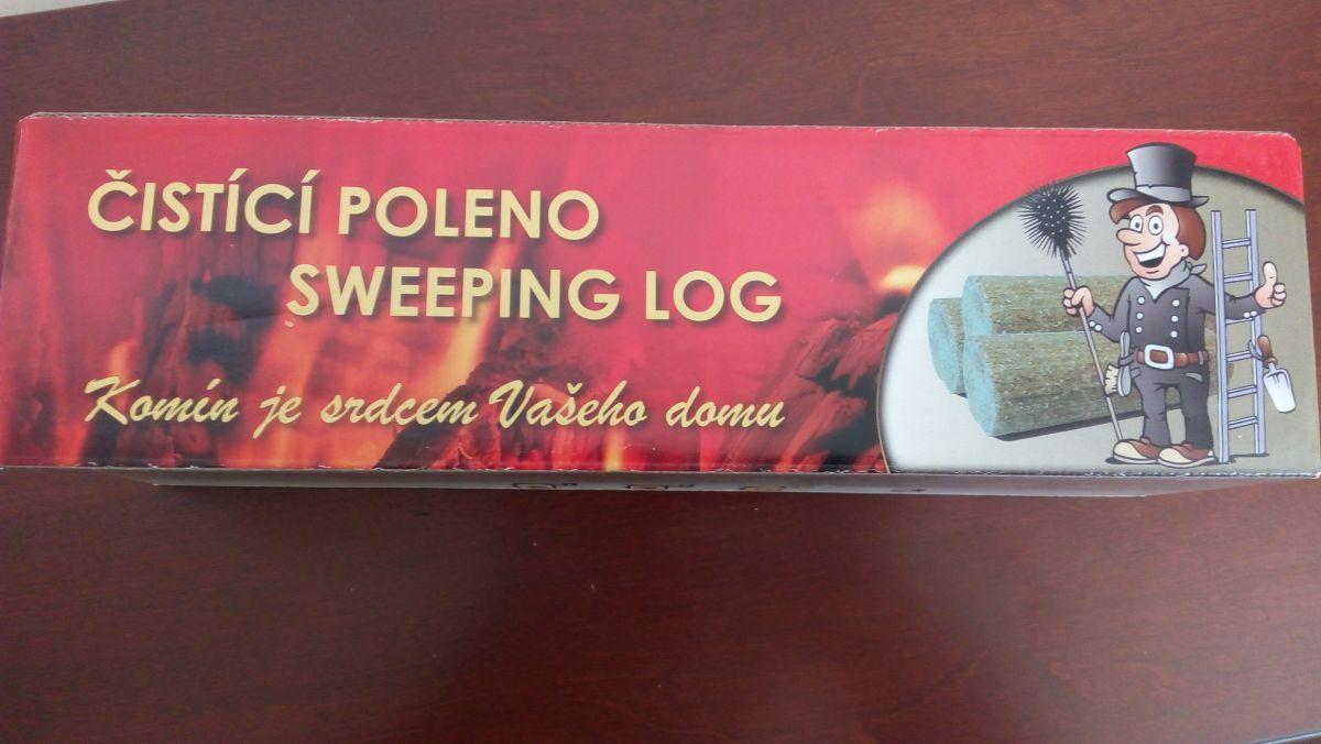 Čistící poleno pro čištění komína 1200 g Mr. Fire odborný prodejce levně!