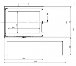 KFD STO Max 14 - kamna litinová KF Design odborný prodejce levně!
