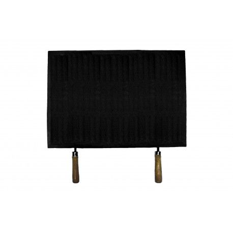 Litinová grilovací deska s dřevěnými madly 525x370 mm Gettys odborný prodejce levně!