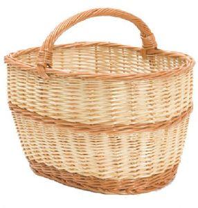 Nákupní košík proutěný Kombi