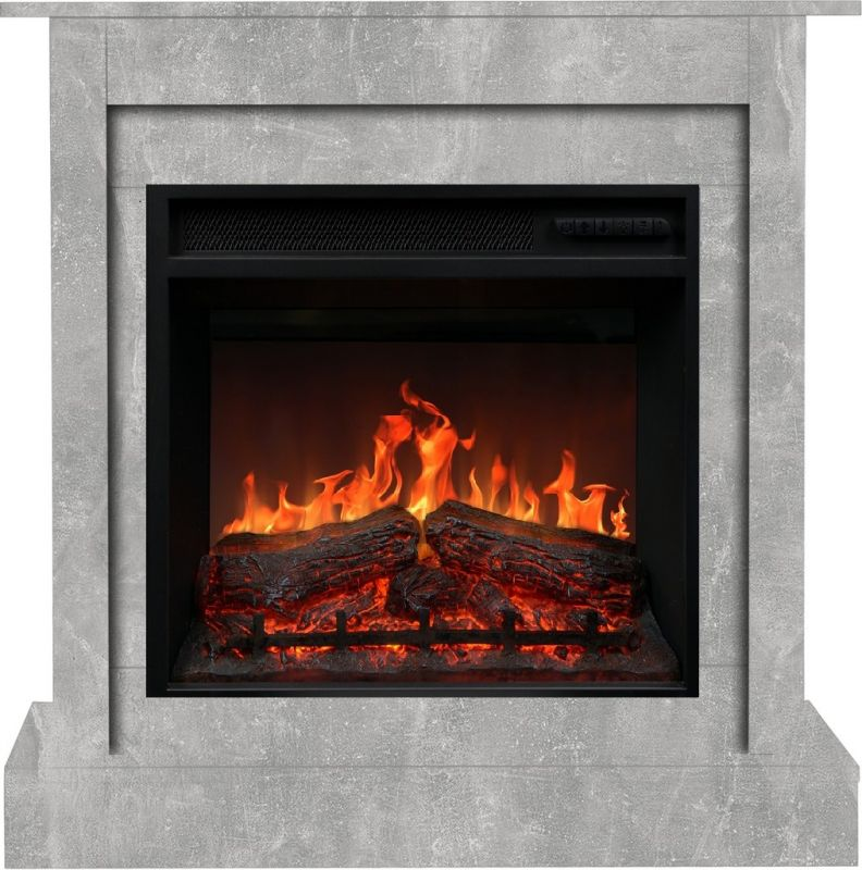 VIGO beton klasik - elektrický krb Aflamo odborný prodejce levně!