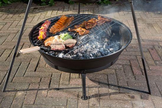 Litinové ohniště s grilem EDNA Globe-Fire odborný prodejce levně!
