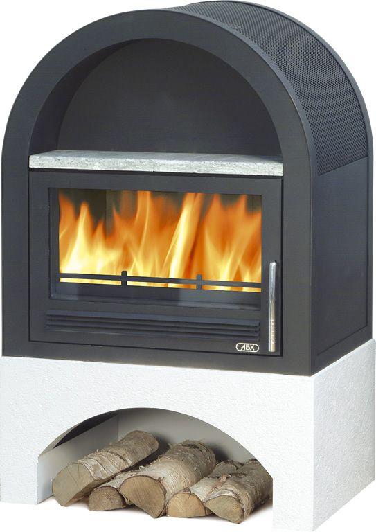 Krbová kamna s teplovodním výměníkem ABX Grunt odborný prodejce levně!