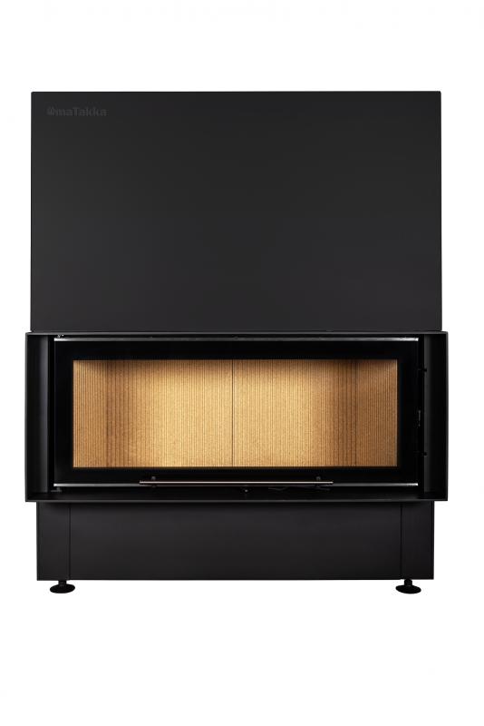 Espoo LD 1070 x 440 black decor - krbová vložka Omatakka odborný prodejce levně!