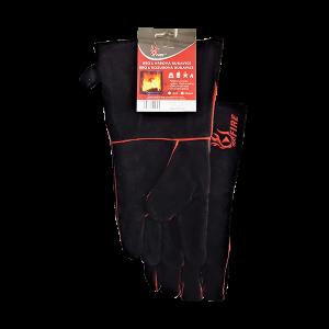 Krbová a BBQ rukavice žáruvzdorná kožená