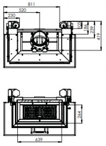 Krbová vložka Hitze Trinity 80x35x53.G - C model odborný prodejce levně!