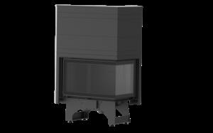KFD ECO iLUX 90 RH - krbová vložka rohová levá s výsuvem
