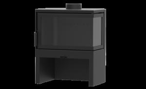 KF Design STO M 14 R - kamna s bočním sklem pravým