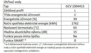Elektrický ohřívač vody Tesy-Promotec GCV 1004415 D07 TRC odborný prodejce levně!
