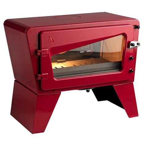 Krbová kamna CH´TI červená - smalt ref.: 6167-47 odborný prodejce levně!