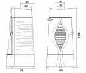 Krbová kamna ORACLE antracit ref.: 6157-44 odborný prodejce levně!