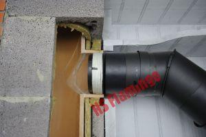 Redukční přechod 150mm/200mm/1,5mm kamna/komín odborný prodejce levně!