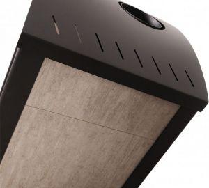 Krbová kamna AQUAFLAM VARIO ® BARMA 11/7kW Bělený Dub, elektronická regulace odborný prodejce levně!