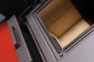 Krbová kamna AQUAFLAM VARIO SAPORO 11/7kW červená, elektronická regulace odborný prodejce levně!