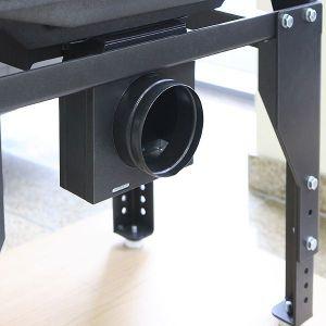 Krbová vložka UNIFLAM 700 SELENIC 3 skla s klapkou a externím přívodem vzduchu ref. 601-734-DP odborný prodejce levně!